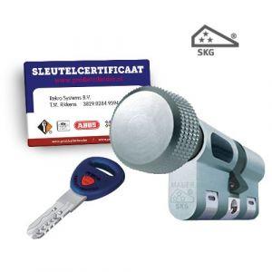 Cilinderslot Mauer New Wave 4 knopcilinder SKG3