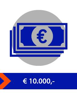 waardeberging 10000