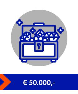 50000 waardeberging kluis