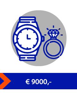 9000 waardeberging kluis
